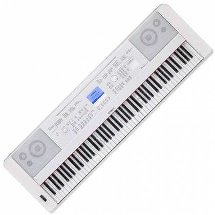 Yamaha DGX660-WH 88-Key Electric Piano with Stand - White Product Image 2