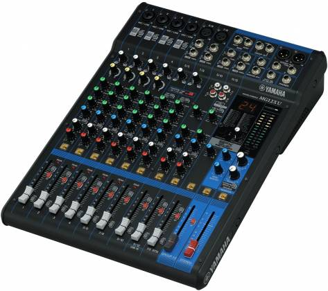Yamaha MG12-XU 12-Channel Analog Mixer with USB and Effects Product Image 7