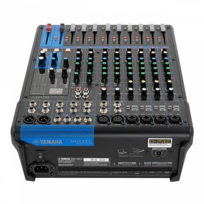 Yamaha MG12-XU 12-Channel Analog Mixer with USB and Effects Product Image 6