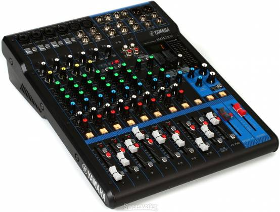 Yamaha MG12-XU 12-Channel Analog Mixer with USB and Effects Product Image 2