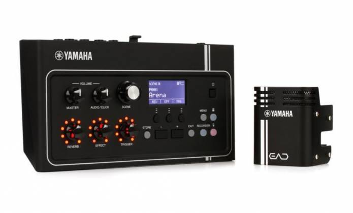 Yamaha EAD10 Acoustic Electronic Drum Module with Mic and Trigger Pickup Product Image 17