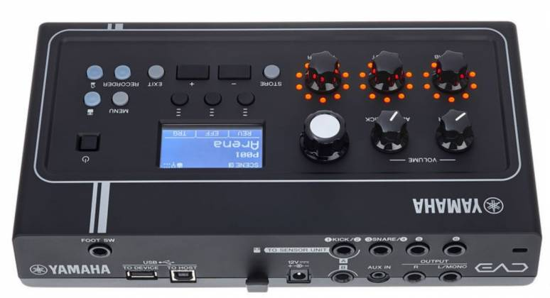 Yamaha EAD10 Acoustic Electronic Drum Module with Mic and Trigger Pickup Product Image 12