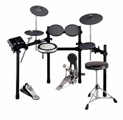 Yamaha DTX522-K 6 DTX Series 6-Piece Electronic Drum Set with Free TP70 Tom Pad, Bass Drum Pedal, and Drum Throne Product Image