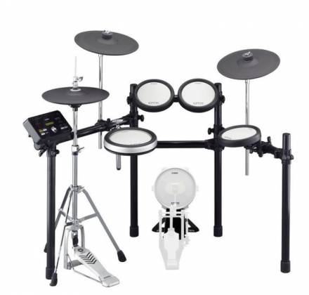 Yamaha DTX582-K 5-Piece Electronic Drum Kit with 4 Drum Pads, 4 Cymbal Pads, Drum Module, and Rack Stand Product Image