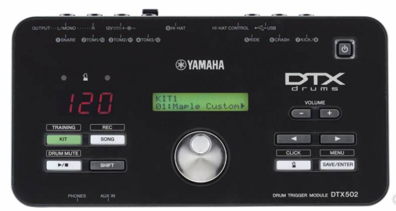 Yamaha DTX582-K 5-Piece Electronic Drum Kit with 4 Drum Pads, 4 Cymbal Pads, Drum Module, and Rack Stand Product Image 16