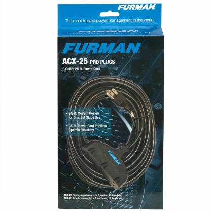 Furman ACX25 25' Extension Cord Product Image 4