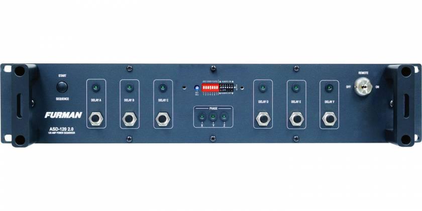 Furman ASD-120-2.0 6 Circuit Sequencing Power Distribution asd-120-2-0 Product Image 3