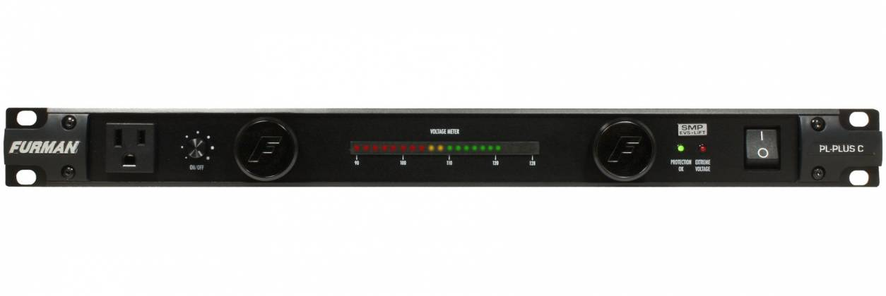 Furman PLPlus-C 120V/15A Power Conditioner with LED Lights & Voltmeter Product Image 4