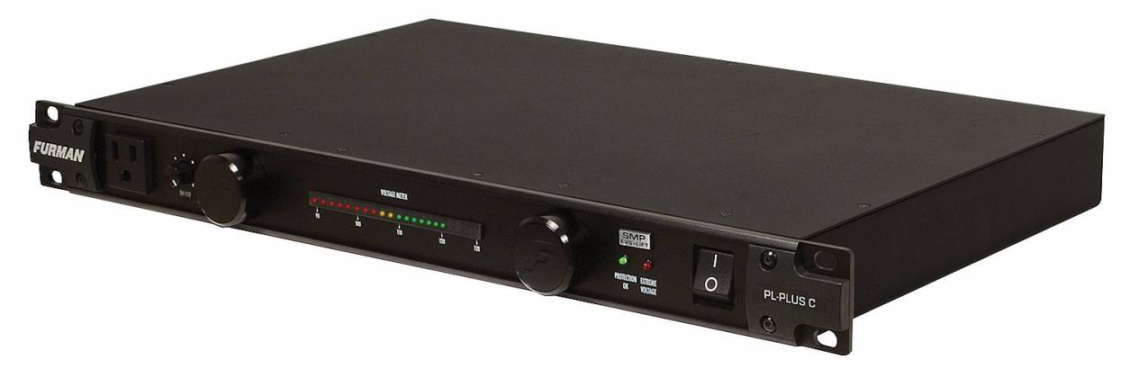 Furman PLPlus-C 120V/15A Power Conditioner with LED Lights & Voltmeter Product Image 3