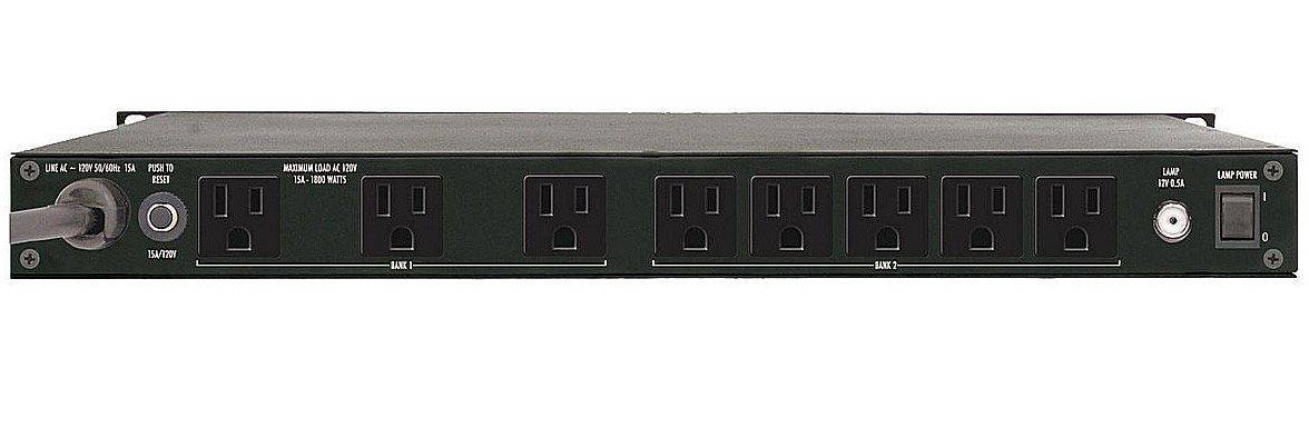 Furman PLPlus-C 120V/15A Power Conditioner with LED Lights & Voltmeter Product Image 2
