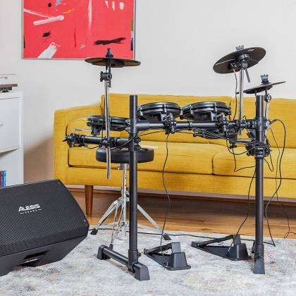 Alesis TURBOMESHKITXUS Electronic Drum Kit Seven-Piece with Mesh Heads turbo-mesh-kit Product Image 6