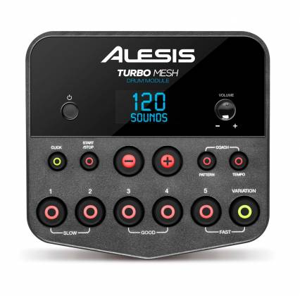 Alesis TURBOMESHKITXUS Electronic Drum Kit Seven-Piece with Mesh Heads turbo-mesh-kit Product Image 4