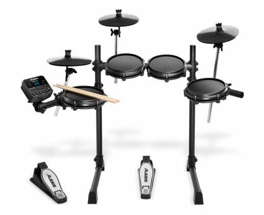 Alesis TURBOMESHKITXUS Electronic Drum Kit Seven-Piece with Mesh Heads turbo-mesh-kit Product Image