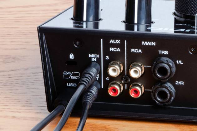 AIR192X8 M-Audio 2-In//4-Out 24-bit//192kHz Audio MIDI Interface
