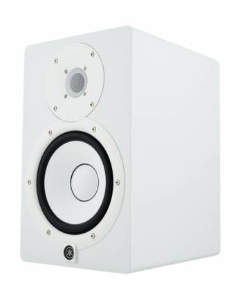 "Yamaha HS7-W 7"" Powered Studio Reference Monitor-White Product Image 6"