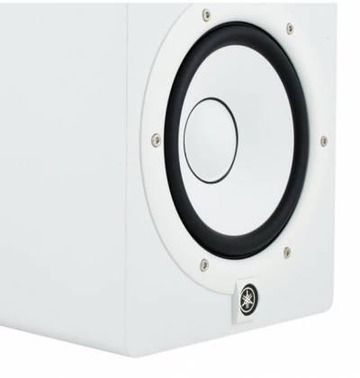 "Yamaha HS7-W 7"" Powered Studio Reference Monitor-White Product Image 5"