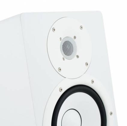 "Yamaha HS7-W 7"" Powered Studio Reference Monitor-White Product Image 4"