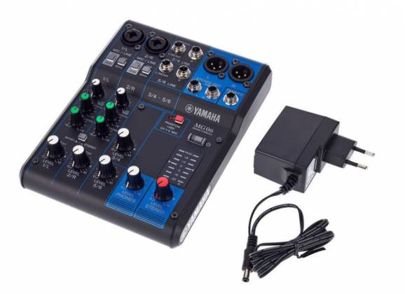 Yamaha MG06  6-Channel Mixer Product Image 3