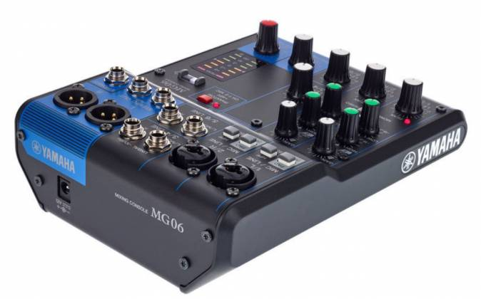 Yamaha MG06  6-Channel Mixer Product Image 2