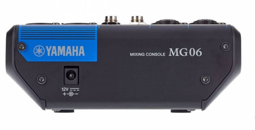 Yamaha MG06  6-Channel Mixer Product Image 8