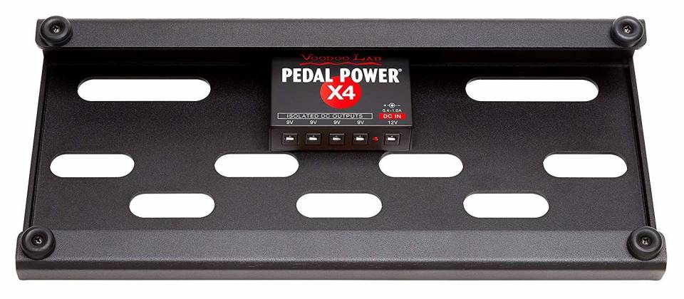 Voodoo Lab DBTX4 Dingbat Pedalboard Power Package-Tiny Dingbat with Pedal PowerX4 Power Supply 104340 Product Image 4