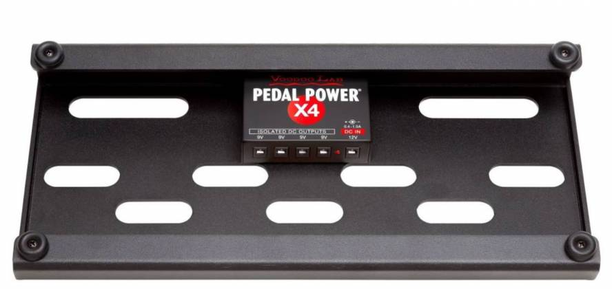 Voodoo Lab DBTX4 Dingbat Pedalboard Power Package-Tiny Dingbat with Pedal PowerX4 Power Supply 104340 Product Image 10