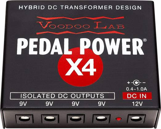 Voodoo Lab DBTX4 Dingbat Pedalboard Power Package-Tiny Dingbat with Pedal PowerX4 Power Supply 104340 Product Image 6