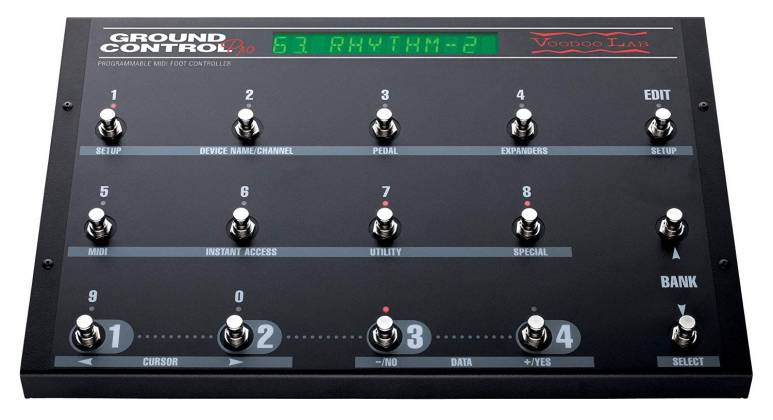 Voodoo Lab GCP Ground Control Pro Programmable MIDI Foot Controller 101591 Product Image 13