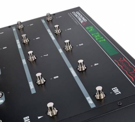 Voodoo Lab GCP Ground Control Pro Programmable MIDI Foot Controller 101591 Product Image 6