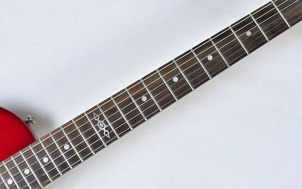 Schecter 3843SHC Solo-II SGR 6-String RH Electric Guitar with GigBag-Metallic Red Product Image 7