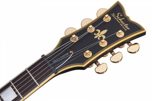 Schecter 658-SHC Solo-II Custom 6-String RH Electric Guitar-Aged Black Satin 658-shc Product Image 2