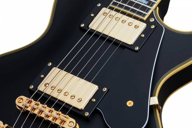 Schecter 658-SHC Solo-II Custom 6-String RH Electric Guitar-Aged Black Satin 658-shc Product Image 10