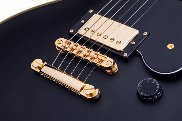 Schecter 658-SHC Solo-II Custom 6-String RH Electric Guitar-Aged Black Satin 658-shc Product Image 9