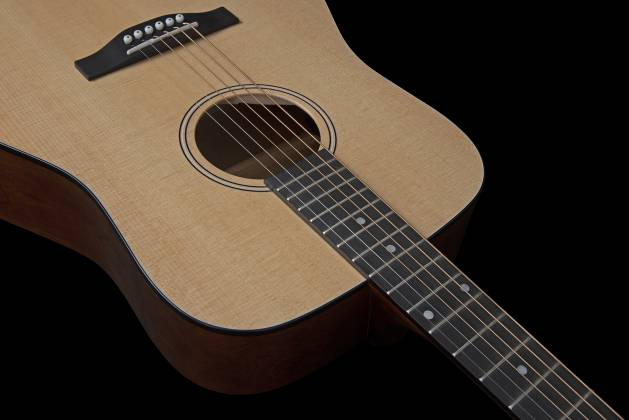 Simon & Patrick 048380 Woodland Concert Dreadnought 6 String RH Acoustic Electric Guitar with Bag Product Image 6