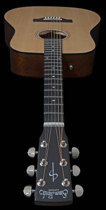 Simon & Patrick 048380 Woodland Concert Dreadnought 6 String RH Acoustic Electric Guitar with Bag Product Image 3