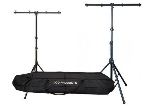LC Group ST07-B Titan Stand Kit with Two Lighting Stands and Carrying Bag-Black Product Image