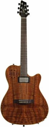 Godin 038206 A6 Extreme KOA High Gloss 6 String RH Acoustic Electric Guitar with Bag Product Image 8