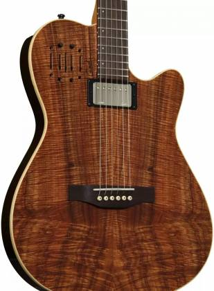 Godin 038206 A6 Extreme KOA High Gloss 6 String RH Acoustic Electric Guitar with Bag Product Image 6