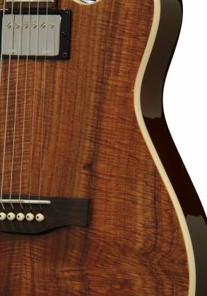 Godin 038206 A6 Extreme KOA High Gloss 6 String RH Acoustic Electric Guitar with Bag Product Image 3