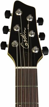 Godin 038206 A6 Extreme KOA High Gloss 6 String RH Acoustic Electric Guitar with Bag Product Image 2