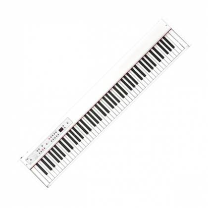 Korg Keyboards D1-WH 88-Key Digital Stage Piano with Pedal-White Product Image