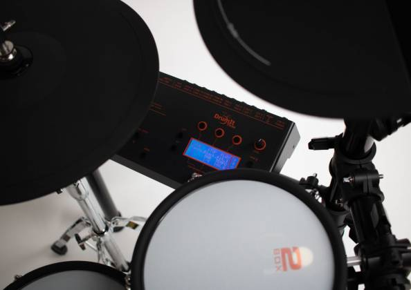 2 Box 40003 Speedlight Electronic Drum Kit with Module, Drum Pads, Cymbal Pads, Hardware and Cables 40003-speedlight Product Image 2