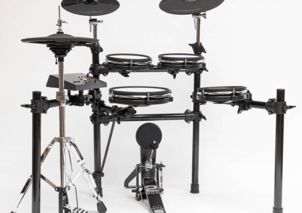 2 Box 40003 Speedlight Electronic Drum Kit with Module, Drum Pads, Cymbal Pads, Hardware and Cables 40003-speedlight Product Image 10