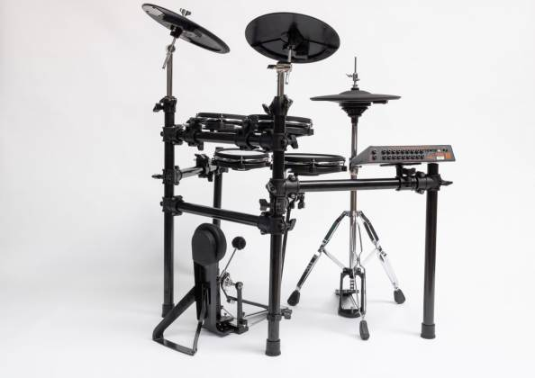 2 Box 40003 Speedlight Electronic Drum Kit with Module, Drum Pads, Cymbal Pads, Hardware and Cables 40003-speedlight Product Image 8