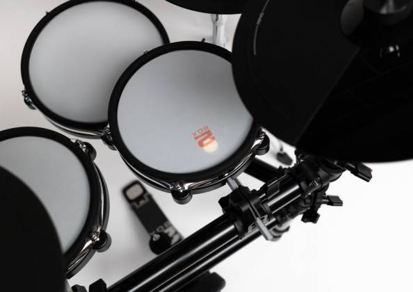 2 Box 40003 Speedlight Electronic Drum Kit with Module, Drum Pads, Cymbal Pads, Hardware and Cables 40003-speedlight Product Image 4