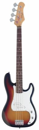 "Stagg P250-SB Standard ""P"" 4-String RH Electric Bass Guitar-Sunburst 18418 Product Image 4"