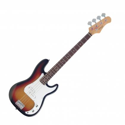 "Stagg P250-SB Standard ""P"" 4-String RH Electric Bass Guitar-Sunburst 18418 Product Image 1"