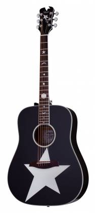 Schecter 282 SHC Robert Smith Signature RS-1000 6-String RH Stage Acoustic Electric Guitar-Gloss Black 282-shc Product Image 8