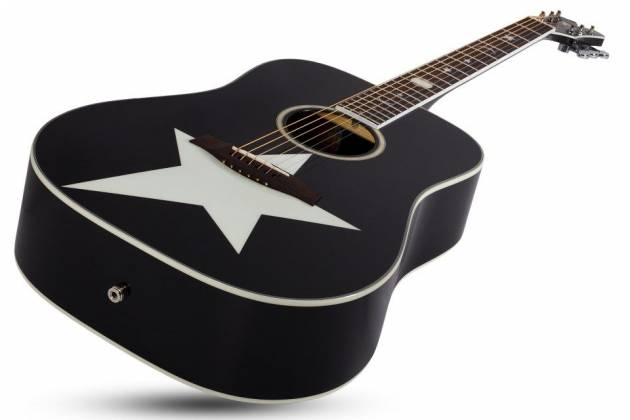 Schecter 282 SHC Robert Smith Signature RS-1000 6-String RH Stage Acoustic Electric Guitar-Gloss Black 282-shc Product Image 6