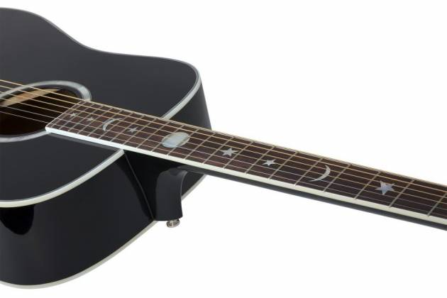 Schecter 282 SHC Robert Smith Signature RS-1000 6-String RH Stage Acoustic Electric Guitar-Gloss Black 282-shc Product Image 2